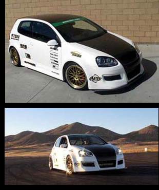 You Can Own Tein S Custom 2006 Volkswagen Golf V Gti Built In By Usa This Blends Dtm And Jdm The Goal For Vehicle Was To Be