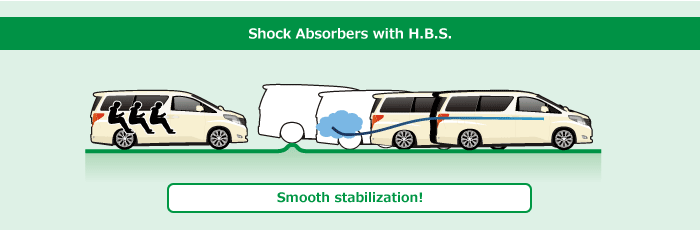 Shock Absorbers with H.B.S.: Smooth stabilization!
